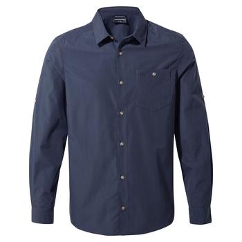Kiwi Ridge Long Sleeved Shirt - Steel Blue