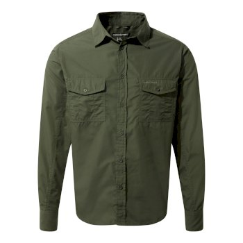 Men's Kiwi Long Sleeved Shirt - Cedar