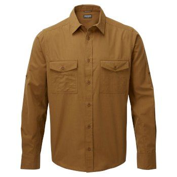 Men's Kiwi Long Sleeved Shirt - Rubber