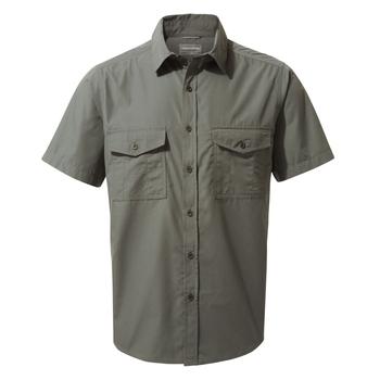 Kiwi Short Sleeved Shirt - Dark Grey