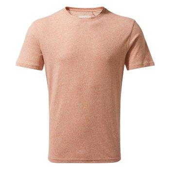 Bernard T-Shirt - Red Ochre Stripe