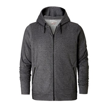 NosiLife Tilpa Hooded Jacket - Black Pepper Marl
