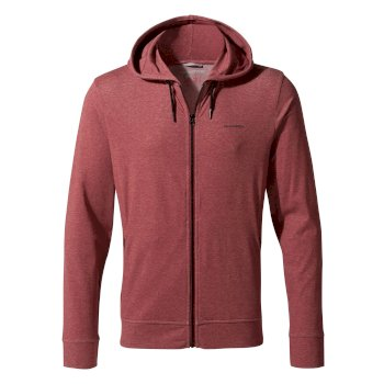Insect Shield Tilpa Hooded Jacket - Firth Red Marl