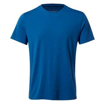 First Layer Short-Sleeved T-Shirt - Deep Blue