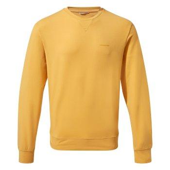 NosiLife Tilpa Crew Sweat Indian Yellow