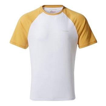 NosiLife Anello T-Shirt - Indian Yellow / Optic White