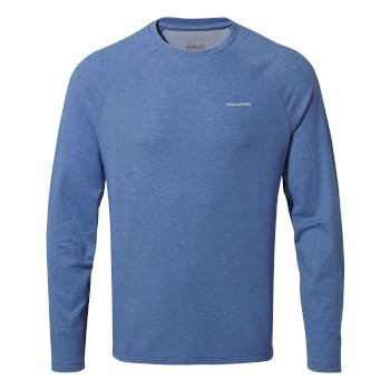 NosiLife Bayame II Shirt - Delft Blue Marl