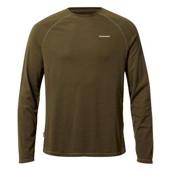NosiLife Bayame II Shirt Dark Moss