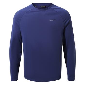 NosiLife Bayame II Long-Sleeved T-Shirt - Lapis Blue