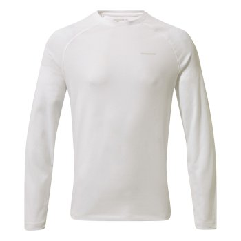 Insect Shield® Bayame II Long-Sleeved T-Shirt - Optic White
