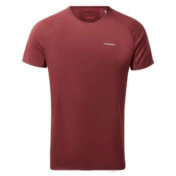 NosiLife II Short-Sleeved Baselayer T-Shirt - Brick Red