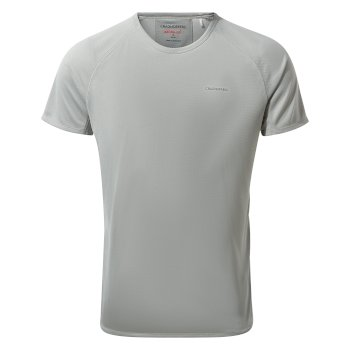 NosiLife II Short-Sleeved Baselayer T-Shirt - Cloud Grey