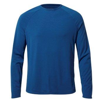 First Layer Long-Sleeved T-Shirt - Deep Blue