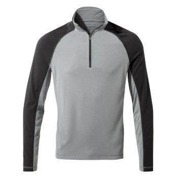 First Layer Half-Zip T-Shirt - Cloud Grey