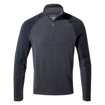 First Layer Half-Zip T-Shirt - Steel Blue
