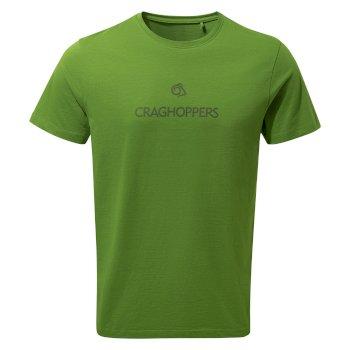 Nelson Short Sleeved T-Shirt - Agave Green Brand Carrier