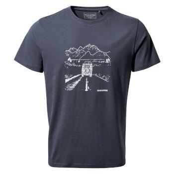 Nelson Short Sleeved T-Shirt - Steel Blue Truck