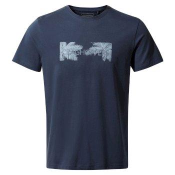 Nelson Short Sleeved T-Shirt - Steel Blue Palm Brand Carrier