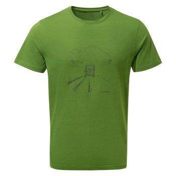 Nelson Short Sleeved T-Shirt - Agave Green Truck