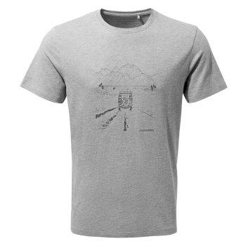 Nelson Short Sleeved T-Shirt - Soft Grey Marl Truck