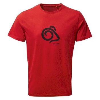 Nelson Short Sleeved T-Shirt - Sriracha Mouflon