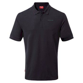 NosiLife Mani Short Sleeved Polo - Dark Navy