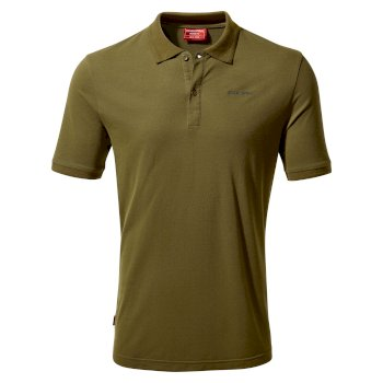 NosiLife Mani Short Sleeved Polo - Dark Moss