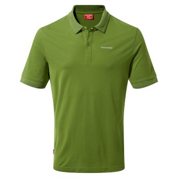 NosiLife Mani Short Sleeved Polo - Agave Green