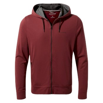 Men's Insect Shield® Tilpa Hooded Jacket - Brick Red