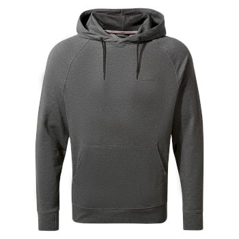 Men's Insect Shield® Tilpa Hooded Top - Black Pepper Marl