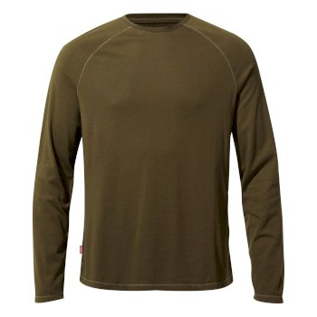 Men's Insect Shield® Bayame II Long-Sleeved T-Shirt - Dark Moss