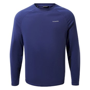 Men's Insect Shield® Bayame II Long-Sleeved T-Shirt - Lapis Blue
