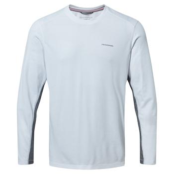 NosiLife Talen Long Sleeved T-Shirt - Optic White