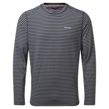 NosiLife Talen Long Sleeved T-Shirt - Blue Navy Stripe