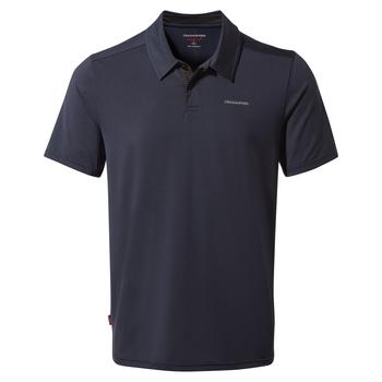 NosiLife Pro Short Sleeved Polo - Blue Navy