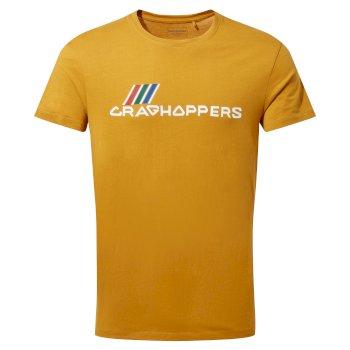 Mightie Short Sleeved T-Shirt - Dark Butterscotch Brand Carrier