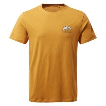 Mightie Short Sleeved T-Shirt - Dark Butterscotch NHB