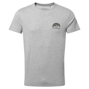 Mightie Short Sleeved T-Shirt - Soft Grey Marl NHB
