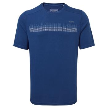 Dynamic Short Sleeved T-Shirt - Poseidon Blue