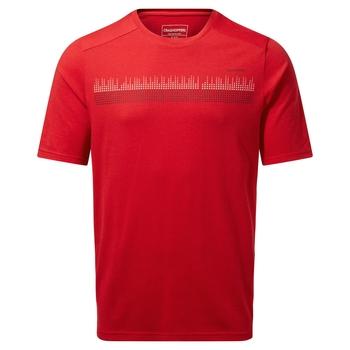 Dynamic Short Sleeved T-Shirt - Sriracha Red