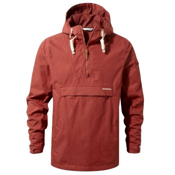 Men's Woodridge Cagoule - Carmine Red