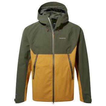 Trelawney Jacket - Parka Green / Dark Butterscotch