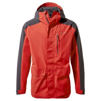 Men's Lorton Jacket - Pompeian Red / Black Pepper