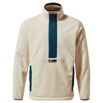 Ashfield Half-Zip Fleece - Ecru