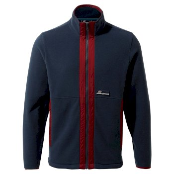Ashfield Jacket - Mid Navy / Firth Red