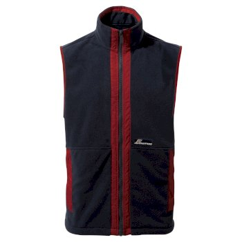 Bagshaw Vest - Mid Navy / Firth Red