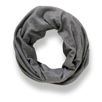 Unisex Insect Shield® Tube Scarf - Black Pepper Marl