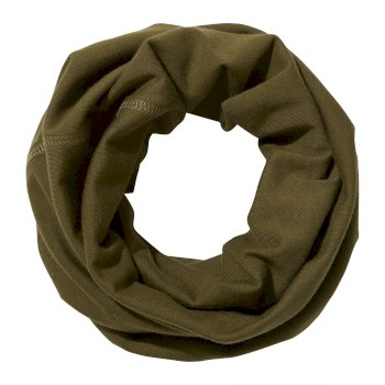 Unisex Insect Shield® Tube Scarf - Dark Moss