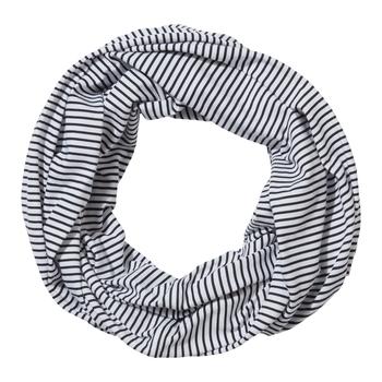 NosiLife Infinity Scarf - Blue Navy Stripe