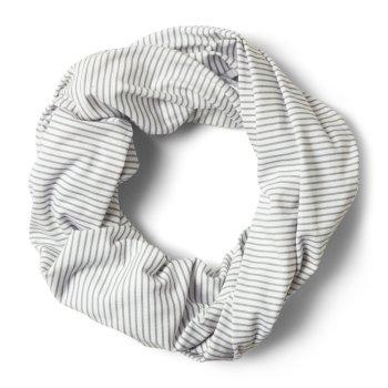 NosiLife Infinity Schal Soft Grey Marl Stripe
